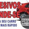 adesivo de vende-se para carro em bh